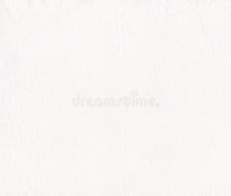 Texture brute blanche de toile Texture ou fond blanche de toile image libre de droits