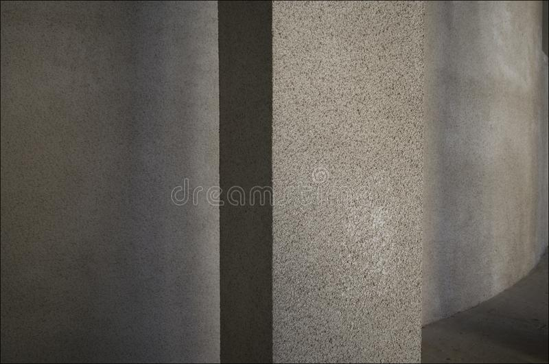 The texture of the building in the shadows royalty free stock photography