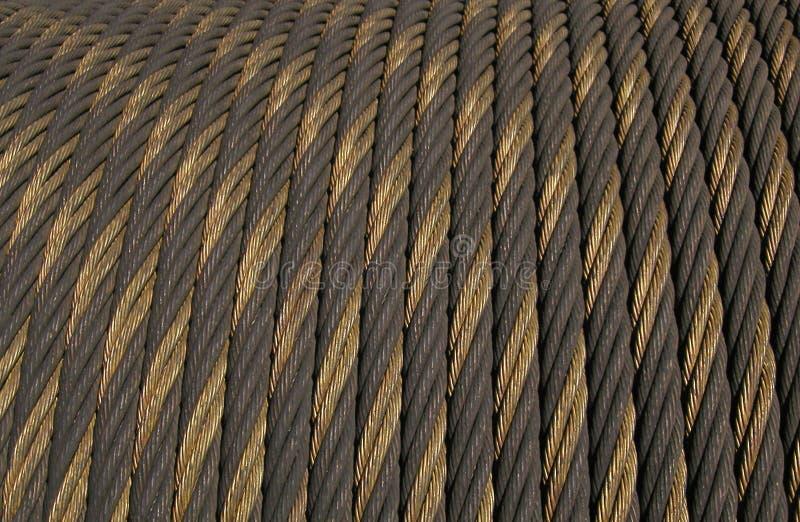 Texture : Câble Photo libre de droits