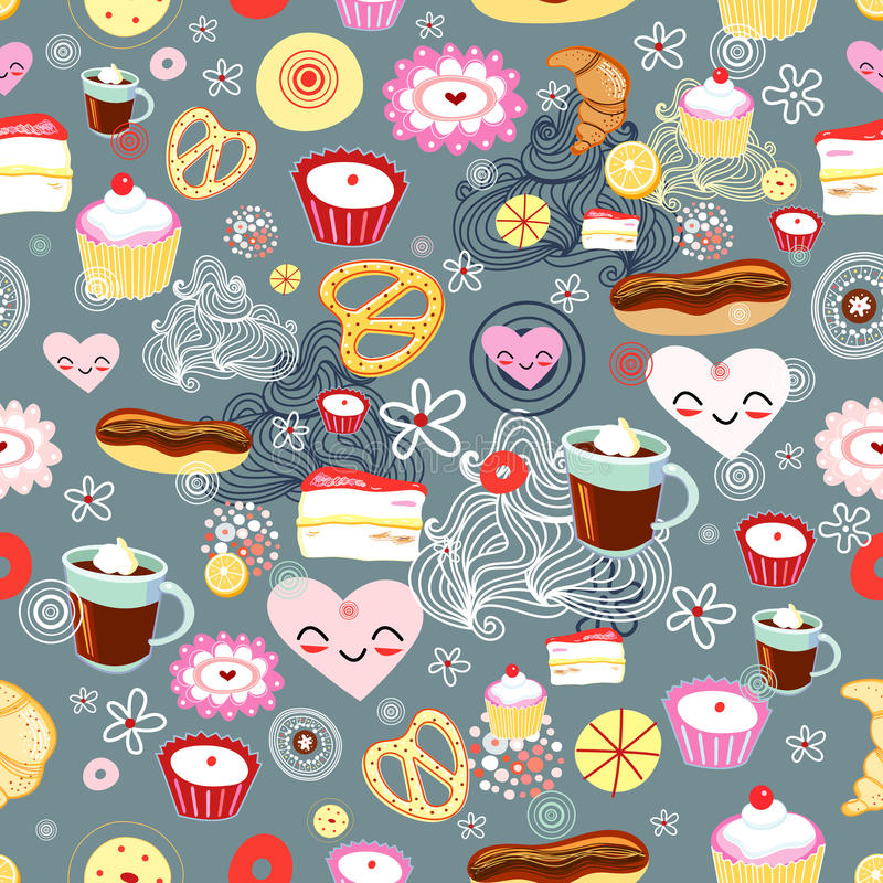 Texture Of Cakes Royalty Free Stock Images
