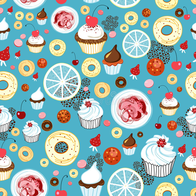 Download Texture of cakes stock vector. Image of packaging, white - 27037191