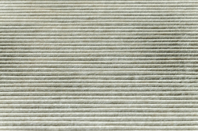 Texture Of Car Cabin Filter Royalty Free Stock Photo