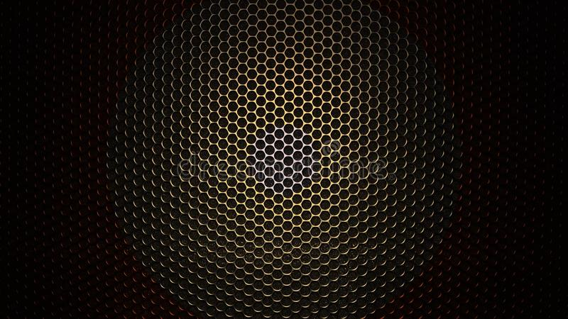 Texture of Carbon Kevlar Fiber material. Color background. Abstract carbon coating royalty free illustration