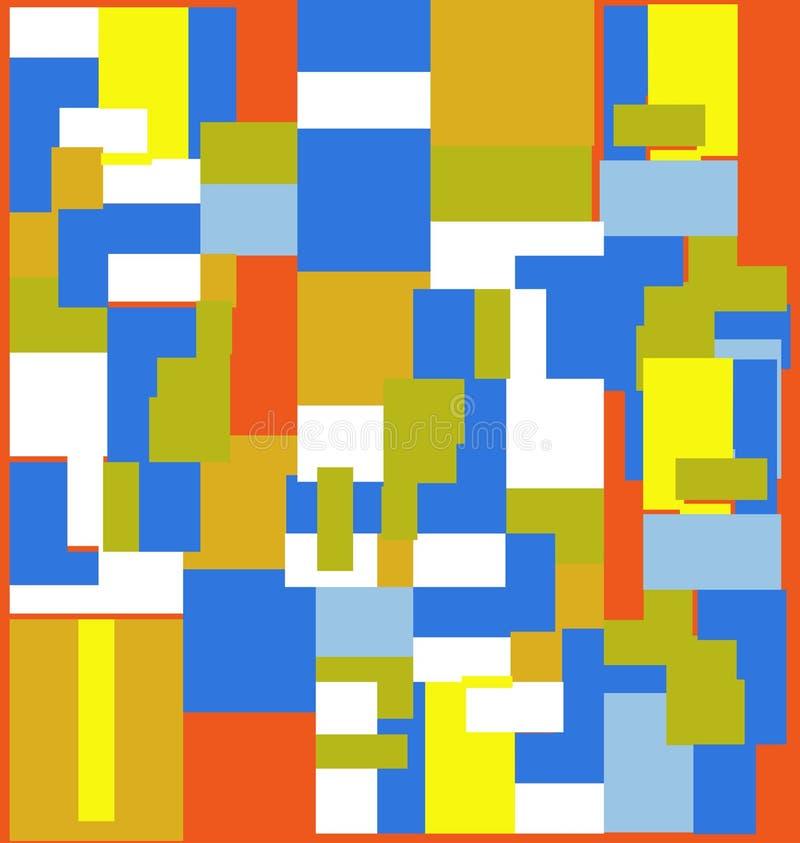 Texture carrée pour le fond abstrait illustration stock