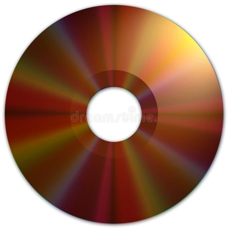 Texture CD (medias foncés) illustration libre de droits