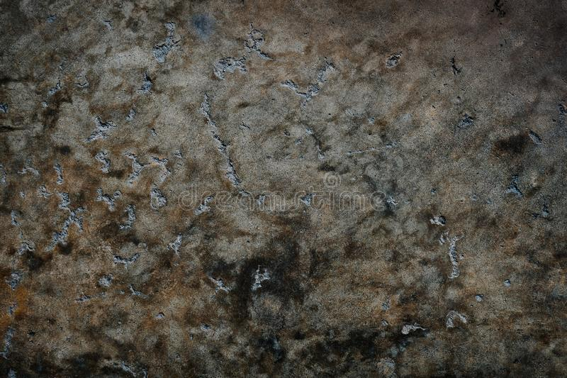 Texture of the Cement Concrete. Dark Grungy Background. Wall and Flooring for Industry Loft royalty free stock images