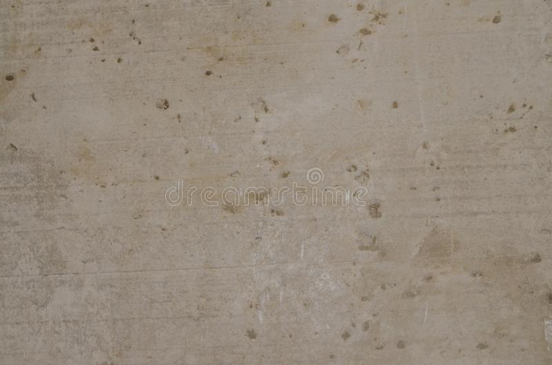 Texture, cement wall with putty, background stock photo