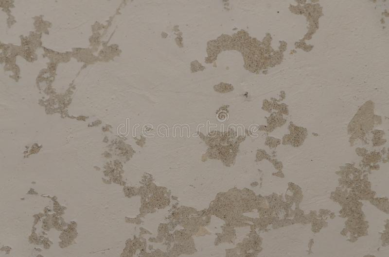 Texture, cement wall with putty, background stock image