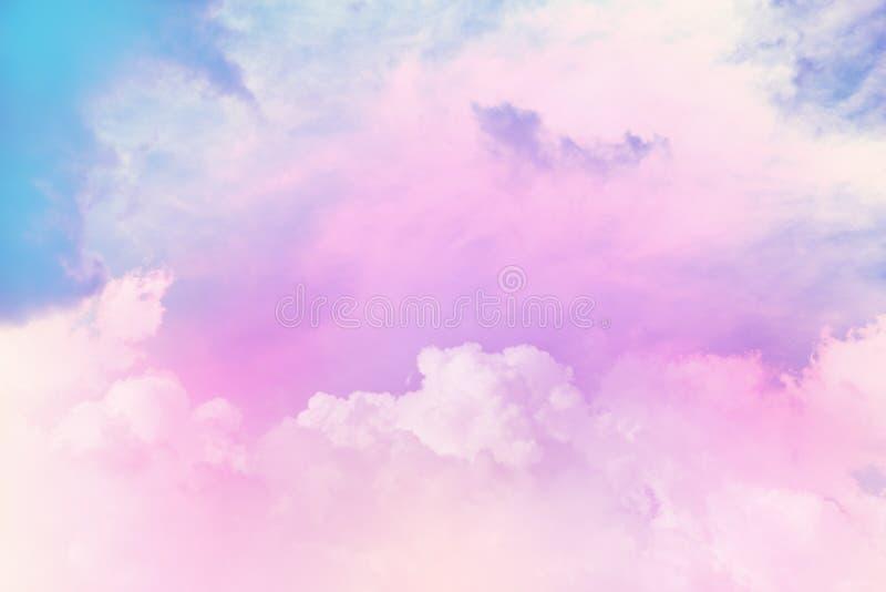 Texture of cloudy sky stock photos