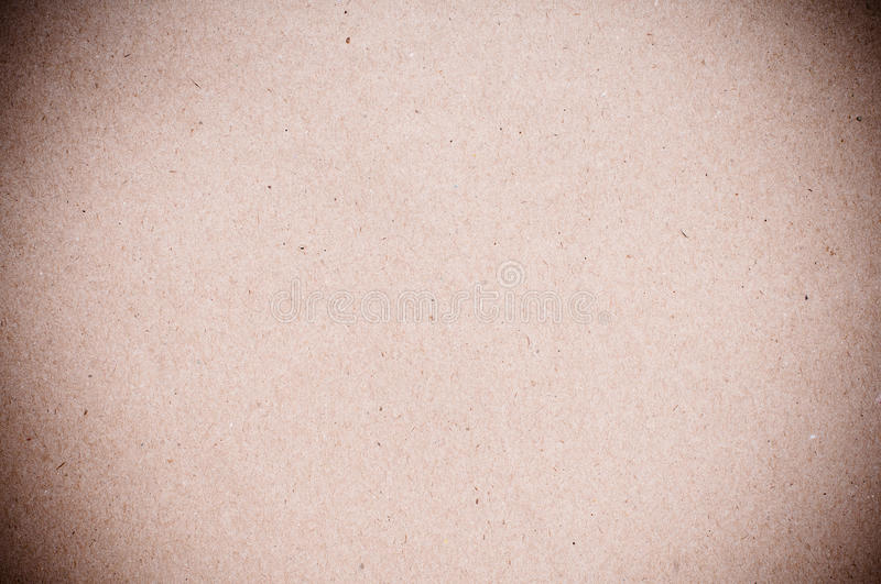 Texture Of Coarse Brown Paper Stock Photo