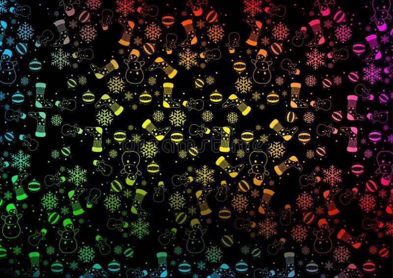 Texture colorée de fond de Noël illustration libre de droits