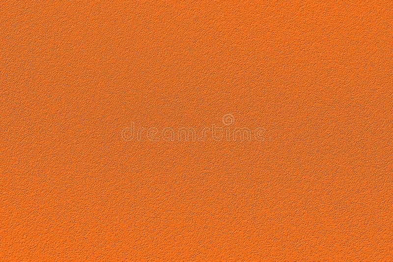 Texture of colored porous rubber. Fashionable color of autumn-winter 2018-2019 season: russet orange Pantone. Can be used as a ba royalty free stock images
