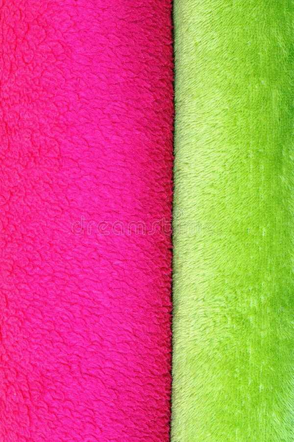 Texture of colorful blankets. Ready for your design pink and green royalty free stock photography