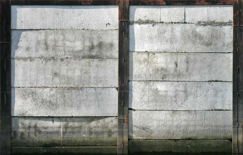 Texture concrète de mur d'amarrage photos libres de droits