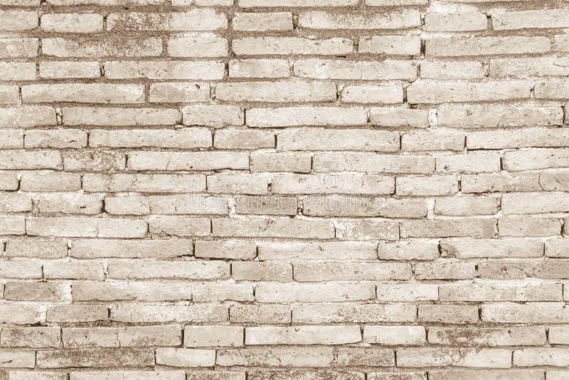 Texture concr?te ou en pierre cr?me de mur de briques d'art de couleur et blanc illustration de vecteur