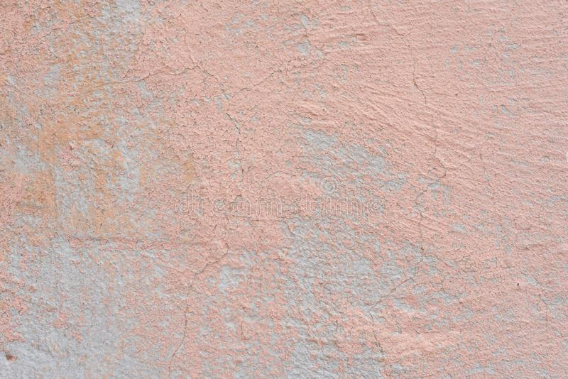 Texture of a concrete wall with cracks and scratches which can be used as a background stock photography