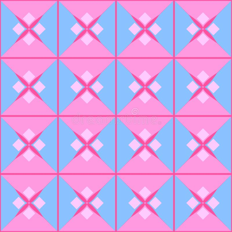Texture Configuration géométrique illustration de vecteur