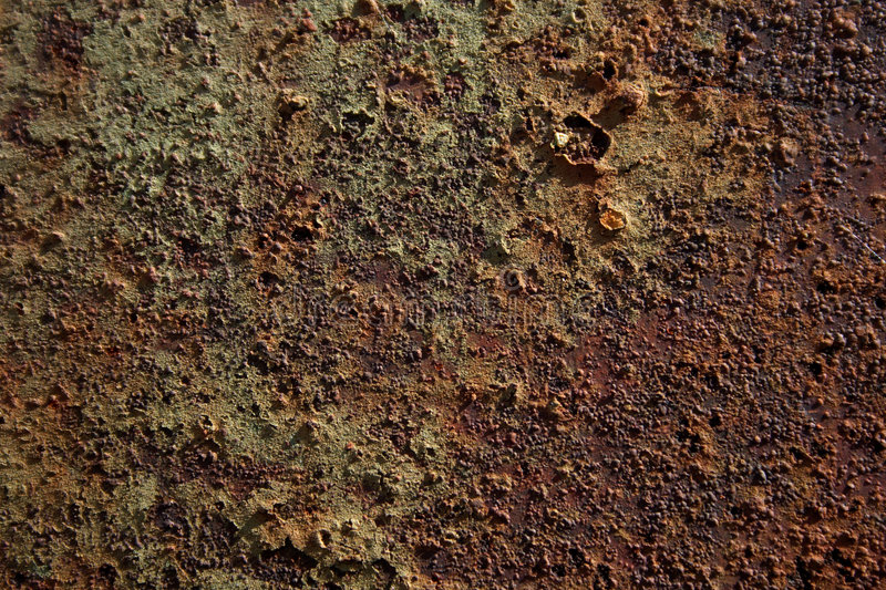Texture of corrosion