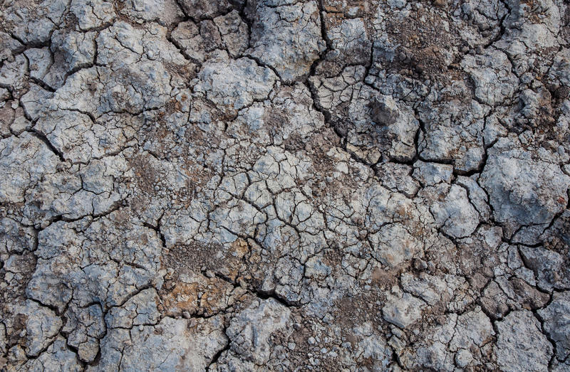 Texture cracked earth stock photography