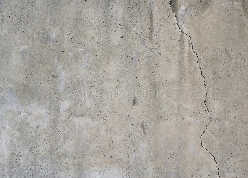 Texture of cracked grunge concrete wall stock photos