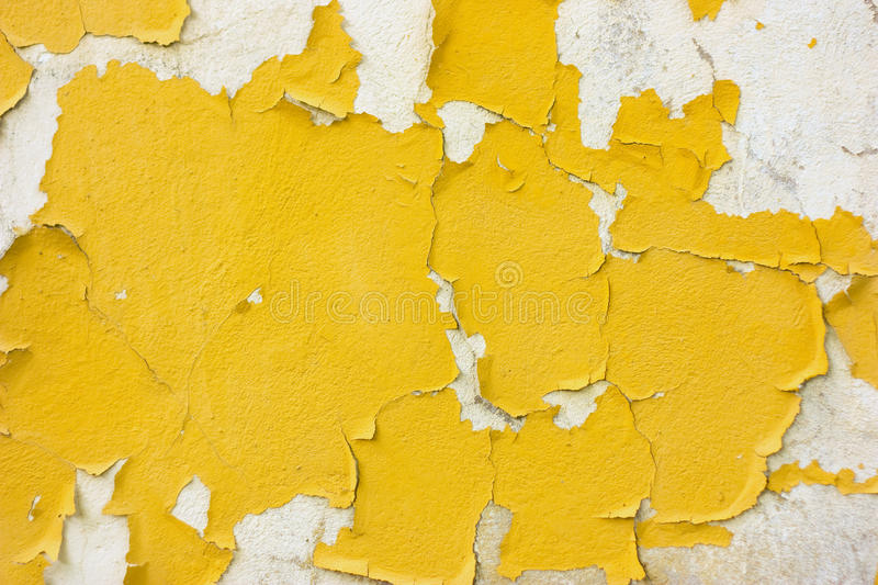 Texture of cracked wall. Texture of old painted cracked wall royalty free stock photo