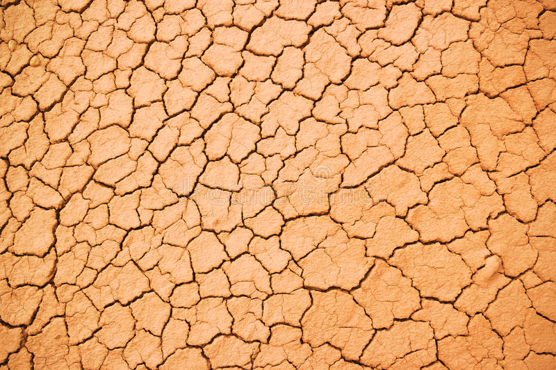 Download Texture Of The Crackled Red Clay Stock Photo - Image: 26553688