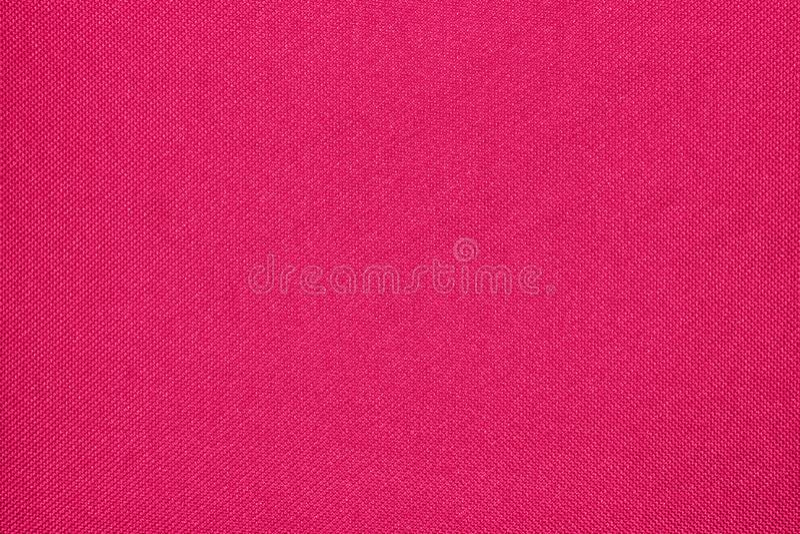 Texture cramoisie de textile tissé photos libres de droits