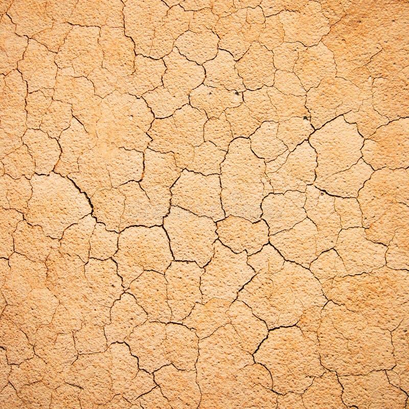 Texture criquée de la terre photo stock