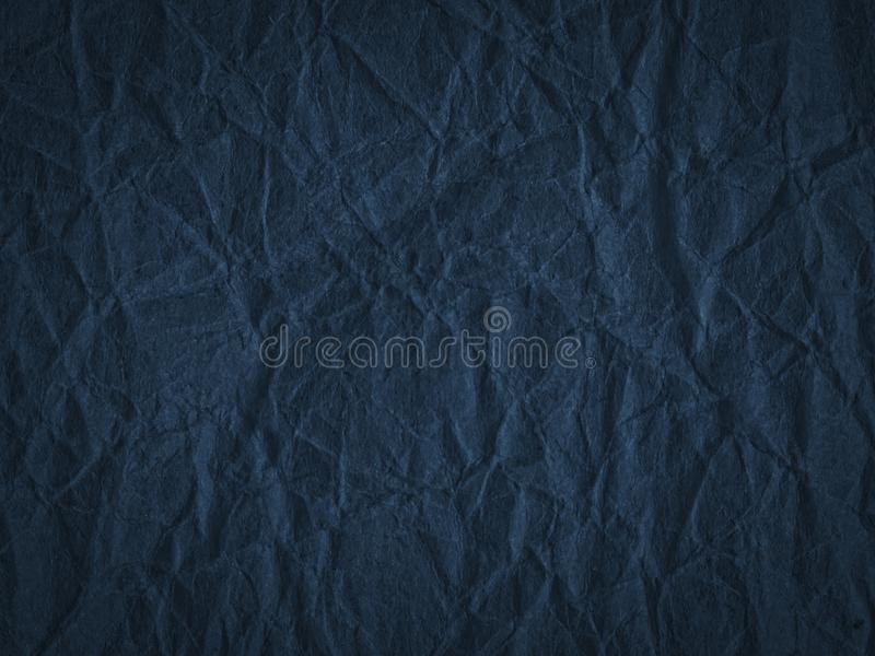 Texture of crumpled craft paper. Abstract background stock photography
