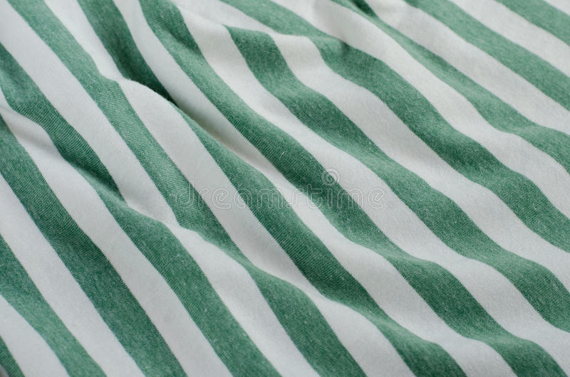Download Texture Of Crumpled Green And White Striped Fabric. Stock Image    Image Of Abstract
