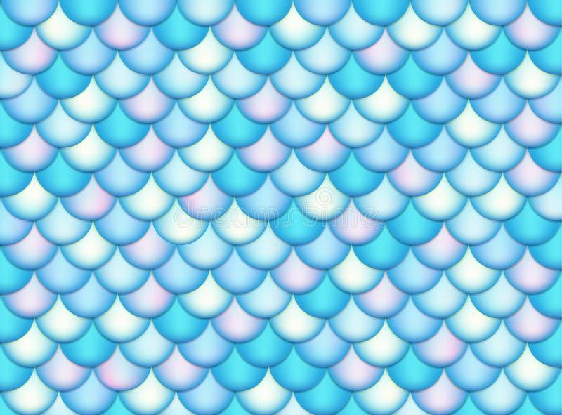 Texture d'échelles de poissons Peau de poissons Illustration de vecteur illustration stock