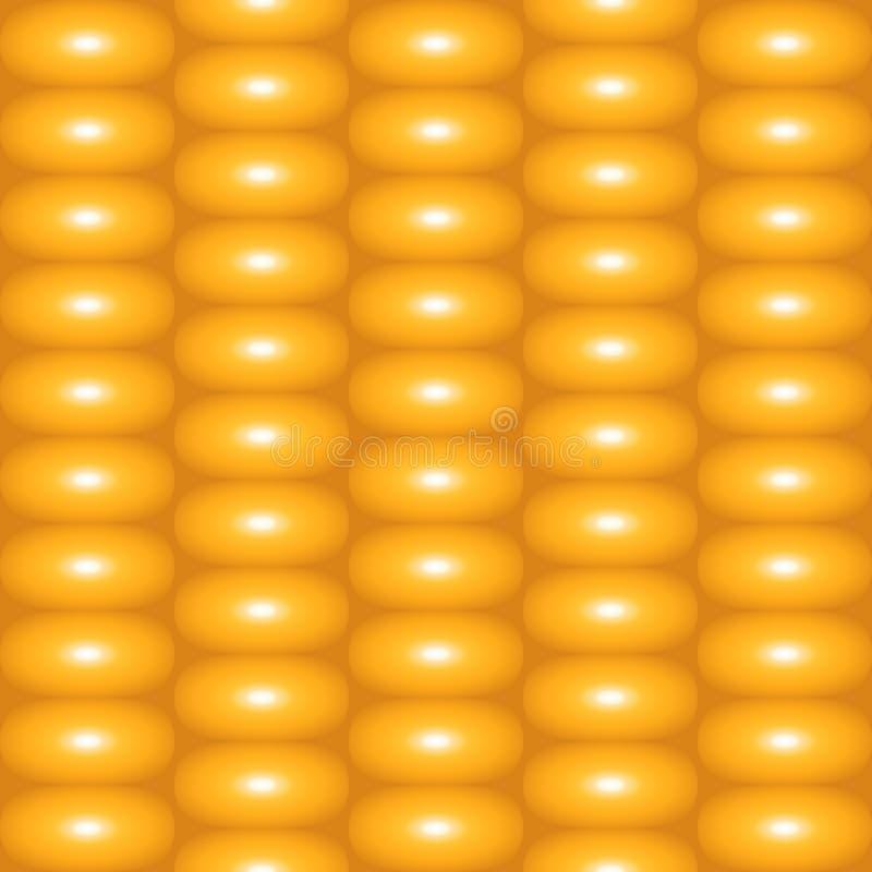 Texture d'été de maïs de nourriture illustration stock