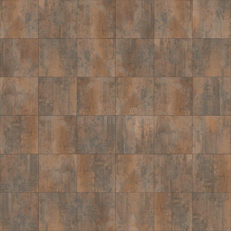 Texture d'acier de Corten image libre de droits