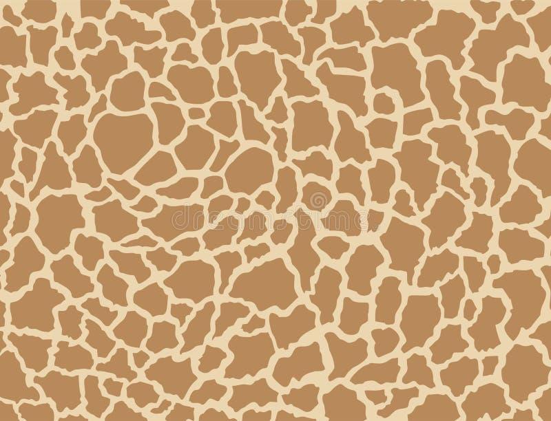 Texture d'animal de safari illustration de vecteur