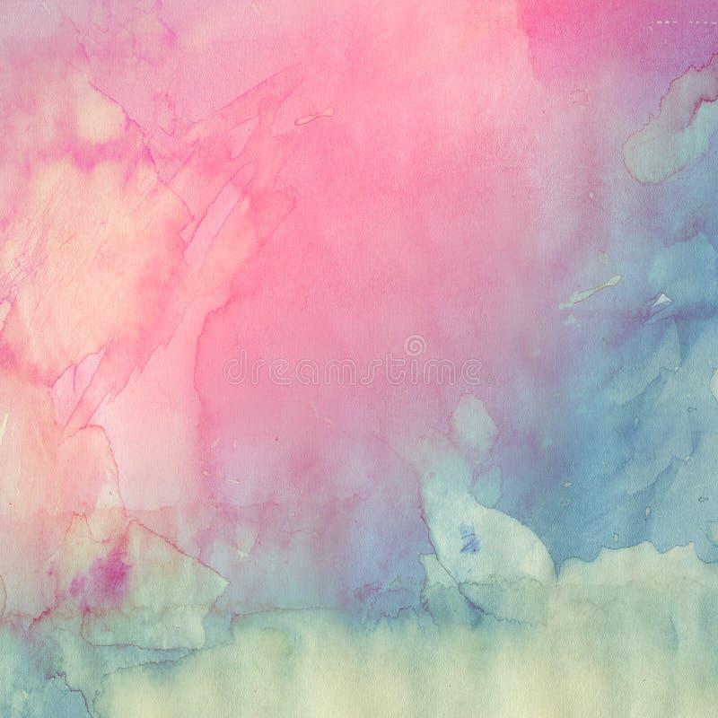 Texture d'aquarelle illustration stock