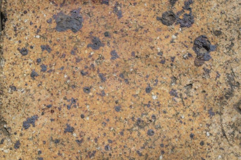 Texture d'argile brûlée dans le four photo stock