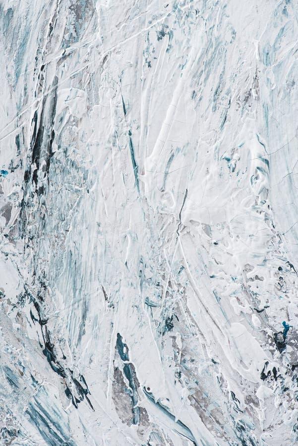 texture d'art avec les courses bleu-clair et blanches de brosse de photos libres de droits