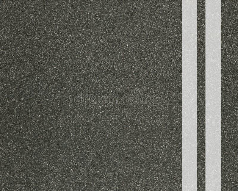 Texture d'asphalte avec des lignes illustration de vecteur
