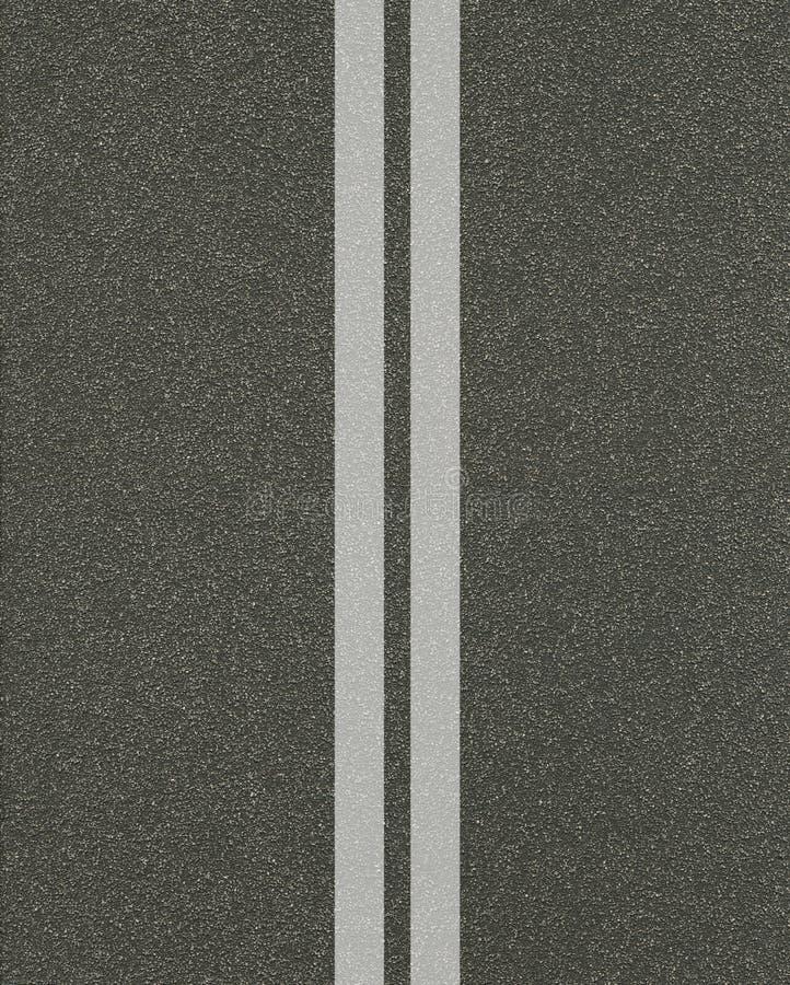 Texture d'asphalte avec des lignes illustration stock