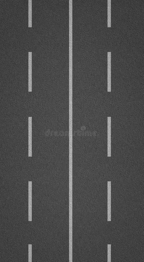Texture d'asphalte avec des lignes photographie stock
