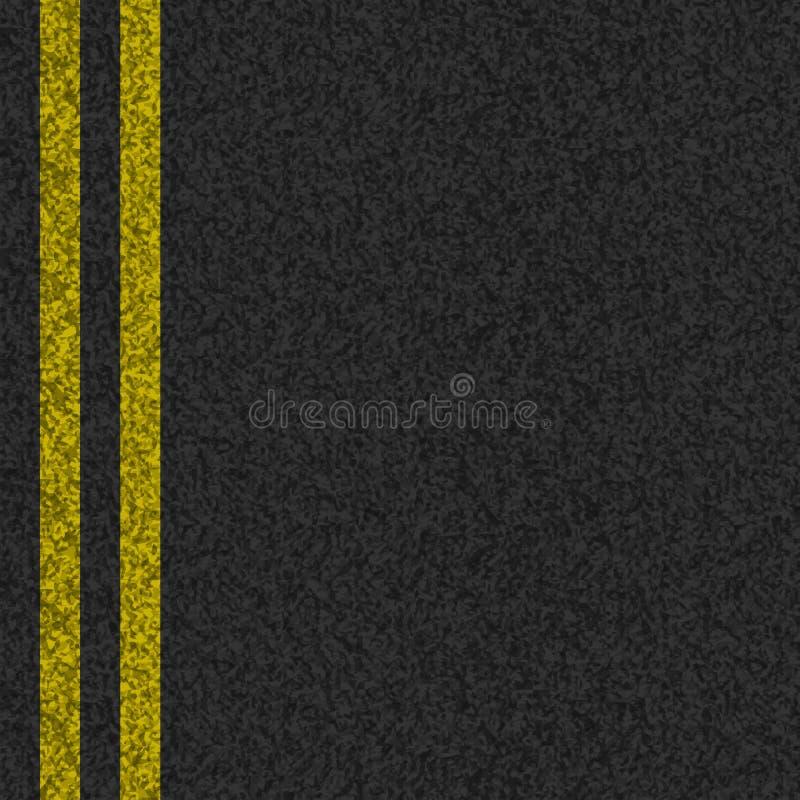 Texture d'asphalte de vecteur illustration libre de droits