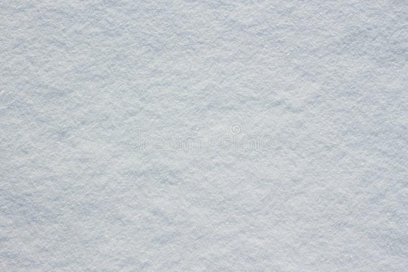 Texture d'au sol frais de bâche de neige photographie stock libre de droits