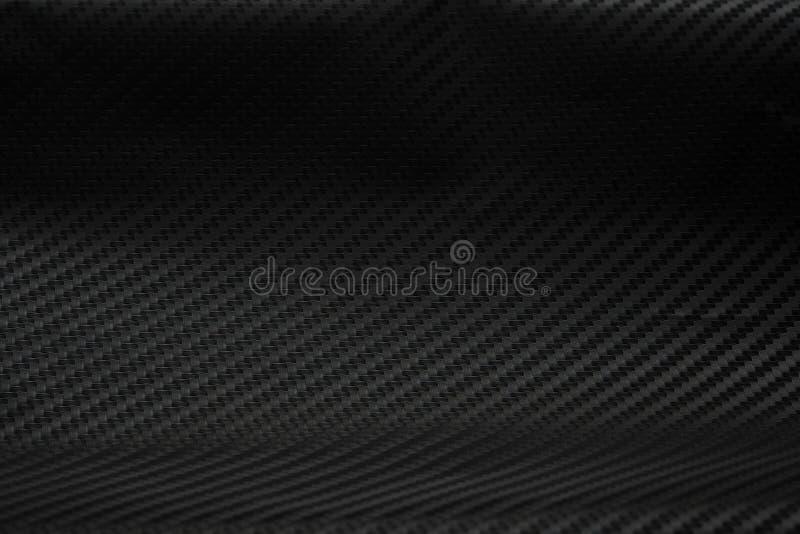 Texture d'autocollant de fibre de carbone Matériel noir de luxe images stock