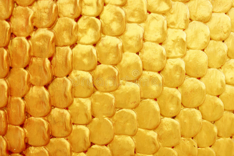 Texture d'or de couche photos libres de droits