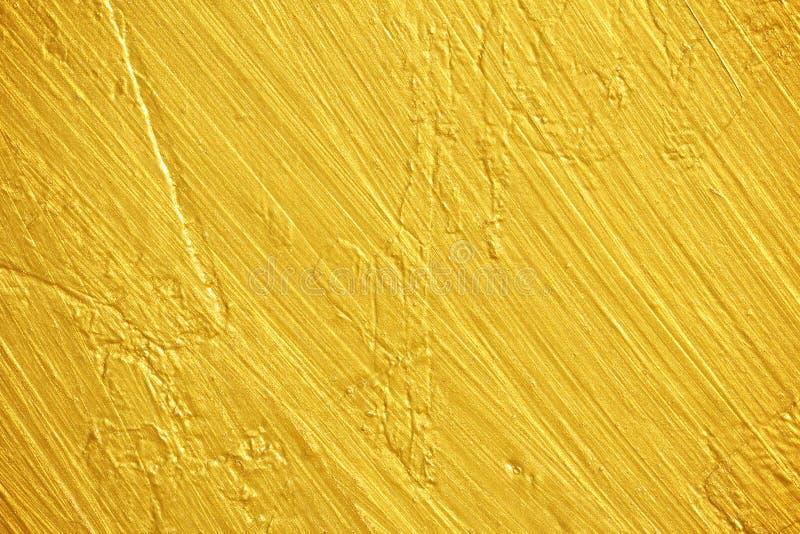 Texture d'or de couche photographie stock