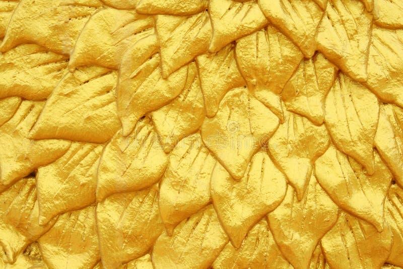 Texture d'or de couche image libre de droits