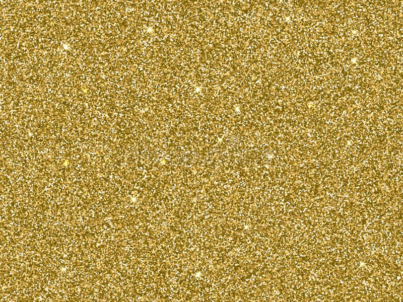 Texture d'or de fond de scintillement d'or de vecteur illustration libre de droits