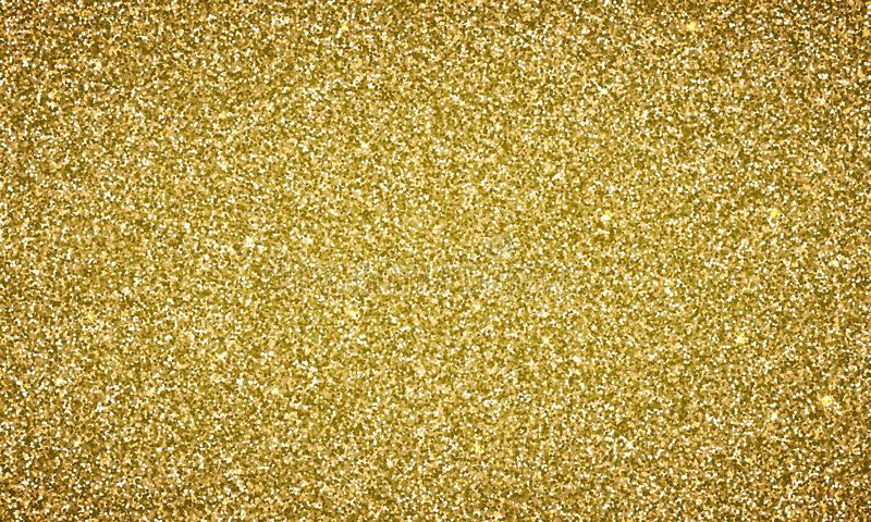 Texture d'or de fond de scintillement d'or de vecteur illustration de vecteur