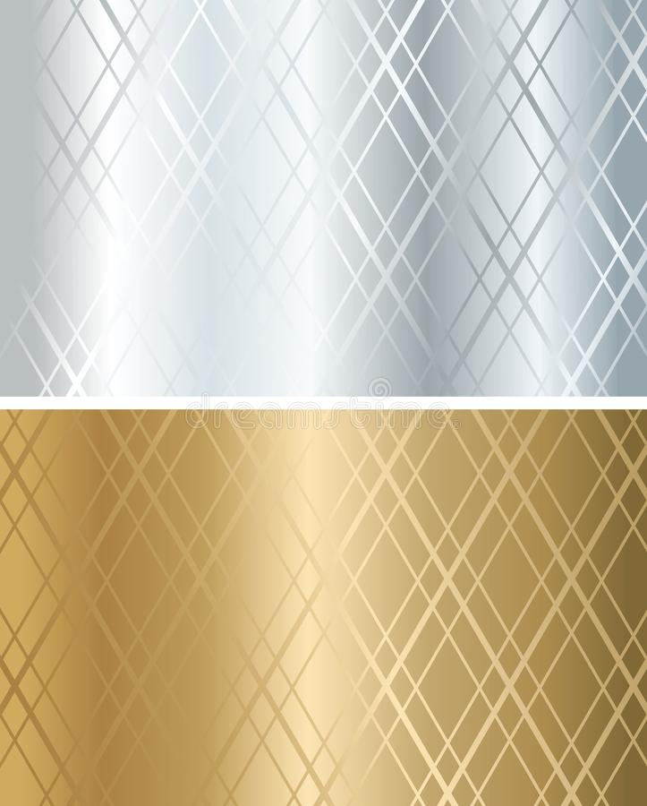texture d'or de tissu illustration stock