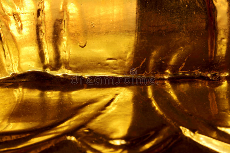 Texture d'or foncée de couche photo stock